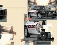 Charger police car jigsaw online